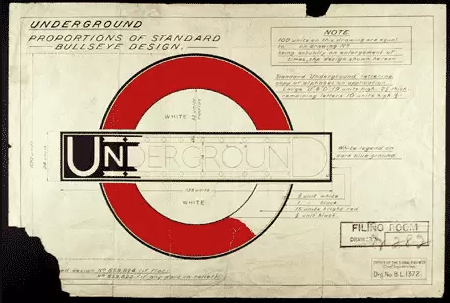 1916-logo London Tube