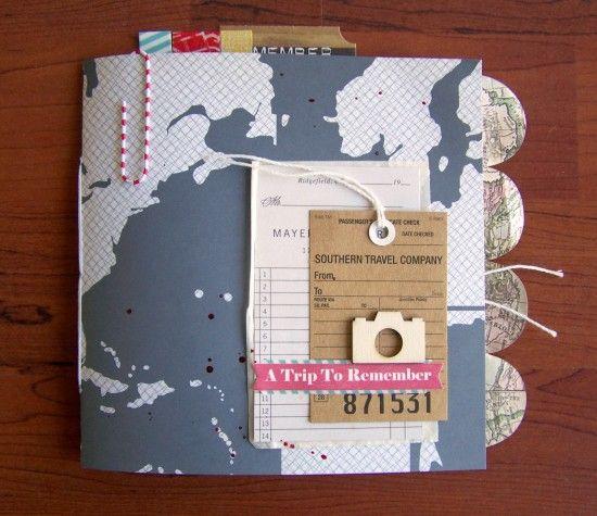 diario di viaggio scrapbooking