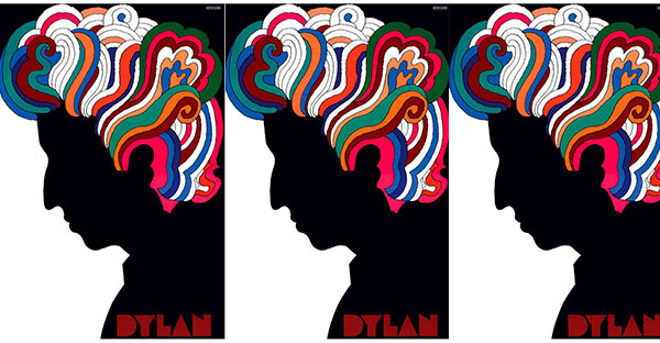 Milton Glaser - Bob Dylan