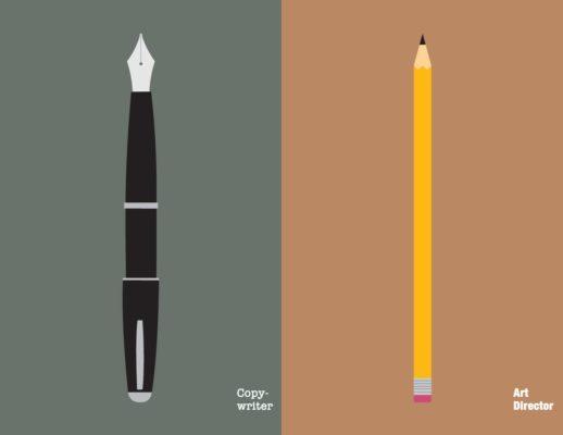art director VS copywriter