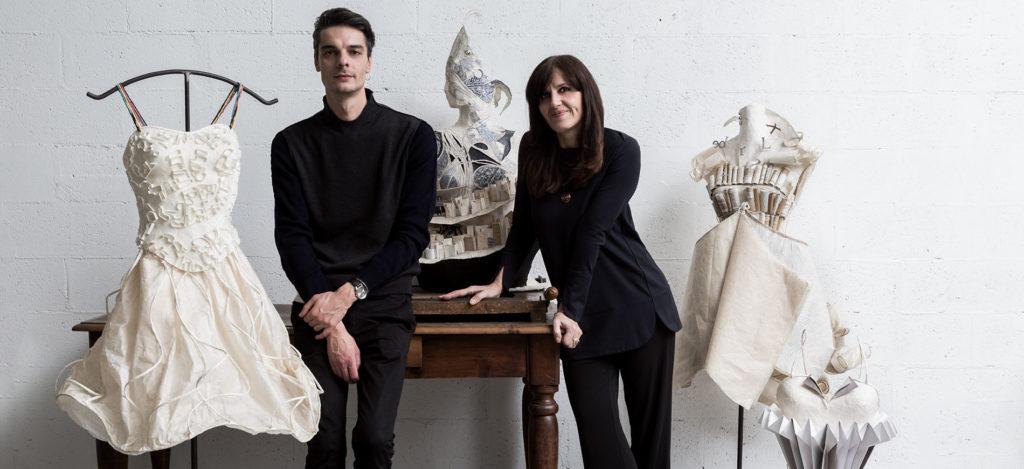 Caterina Crepax paper fashion