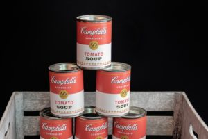 Barattoli zuppa Campbell