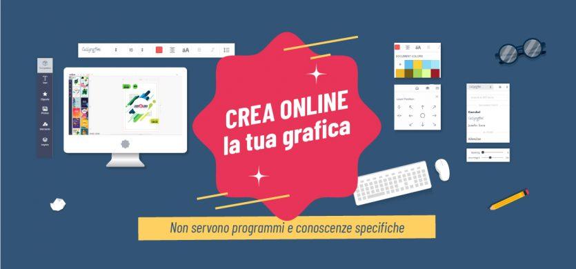 Crea online la tua grafica