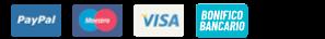 Icone dei metodi di pagamento accettati